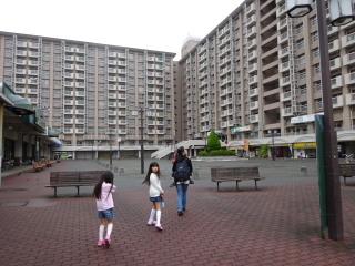多摩川住宅 高層棟