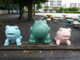 多摩川住宅 かえる公園