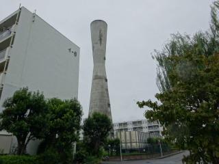 多摩川住宅 給水塔