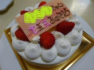 七五三のケーキ
