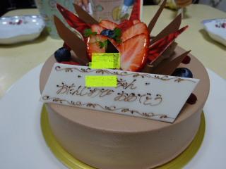 テラ子の誕生日ケーキ