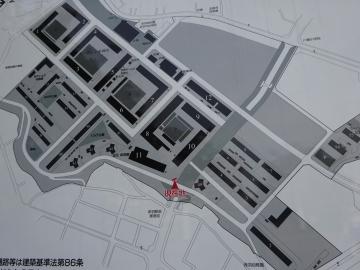 赤羽台団地 案内図