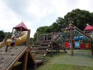 平塚総合公園の遊具