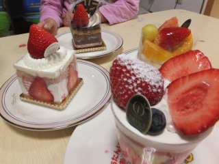 TAKANOケーキ
