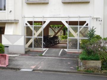 多摩川住宅 ホ号棟の1階