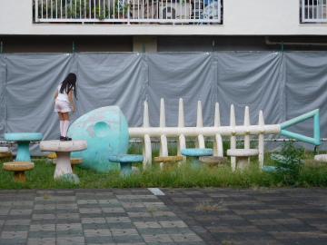 多摩川住宅 魚の骨