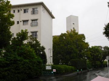 たまプラーザ団地の給水塔