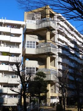 南永田団地2街区のつなぎ