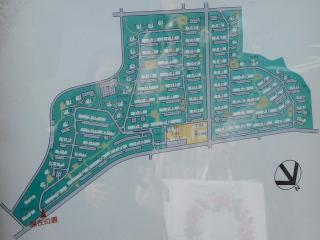 湖北台団地の案内図