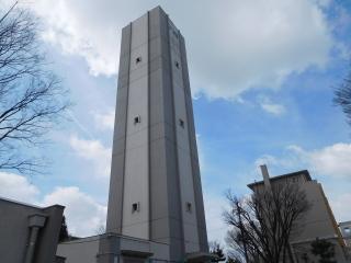 湖北台団地の給水塔