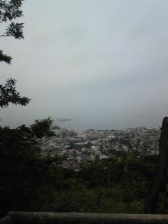 三浦アルプス 仙元山からの眺め